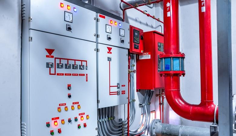 Шкафы управления противопожарными устройствами и системами